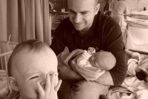 John, Katie & Claire
