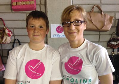 Caring for Caroline pop-up shop