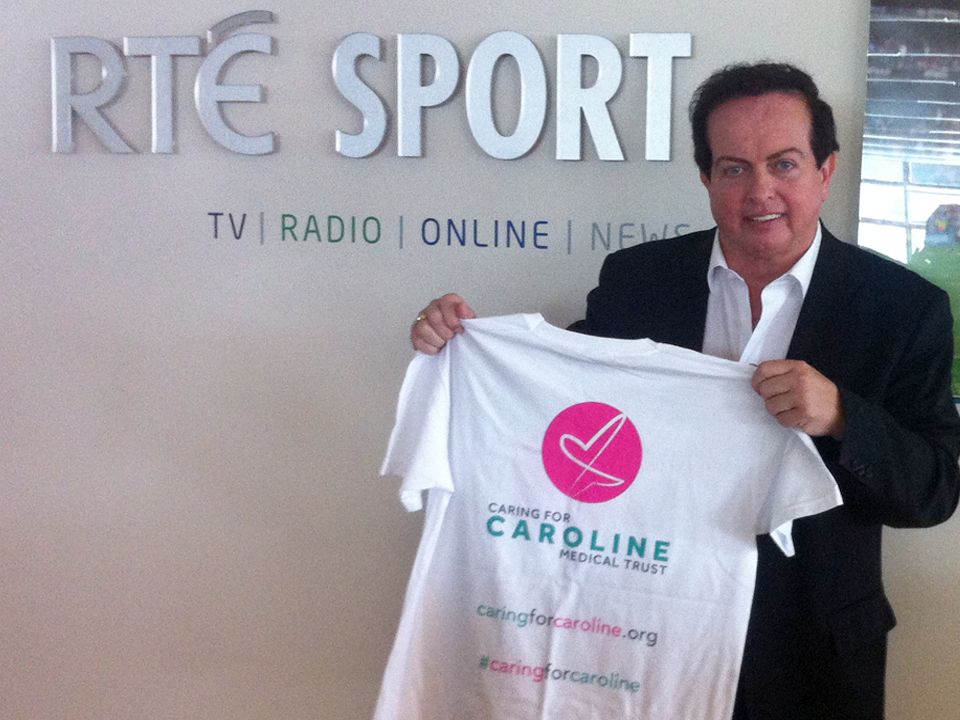 Marty Morrissey, Irish Sports Commentator and television presenter